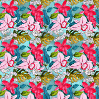 """Best Cotton Fabric Floral Printed For Quilting Sewing Crafting Bedding44"""" Wide"""