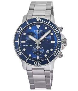TISSOT SEASTAR 1000 T120.417.11.041.00 BLUE DIAL Men's Watch T120.417.11.041.00