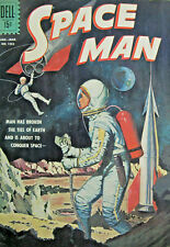 Space man First Issue Dell #1253 Comic Silver Age 1962 VG/FN Sci Fi