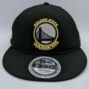 NEW ERA Golden State Warriors NBA Glow in the Dark Hat 9FIFTY Snapback Cap S/M