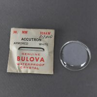 New Old Stock Bulova Crystals Watchmakers Parts For Watch Repairs - See List