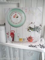 40cm Spring love Canvas Leinwand Wandbild Bild shabby chic French Landhaus 351