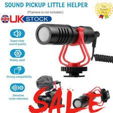 Universal Directional Microphone Mini Video Mic For Canon Nikon Sony DSLR Camera