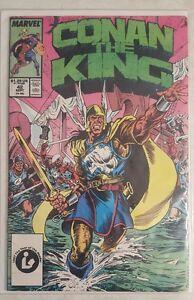 CONAN THE KING COMIC #42 w BAG & BOARD MARVEL