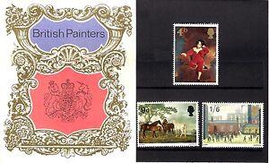 GB 1967 British Painters - Paintings - Presentation Pack