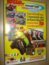 MOTOSPRINT DVD MASTER BIKE 2004 IN PISTA CON LE 13 PIU´ VELOCI MOTO SPRINT