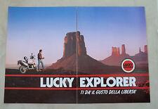 F057 - Advertising Pubblicità - 1992 - LUKY EXPLORER , CAGIVA