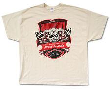 Soundgarden Hi Octane Rock N Roll Cream T-Shirt New Official Adult 3XL XXXL