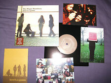 "MAGIC NUMBERS love's a game 7"" limited edition with postcards b/w last night i f"