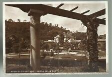 vecchia cartolina bagni di chianciano parco delle fonti prezzo basso