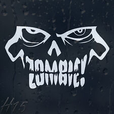 Zombie Car Decal Vinyl Sticker For Bumper Or Window