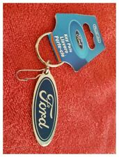 Plasticolor Ford Oval Keychain; ART-FMC-769