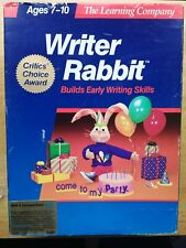 Writer Rabbit & Reader Rabbit & Think Quick Apple IIgs Replacement 3 Boxes Empty