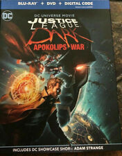 Justice League Dark Apokolips Dvd Only with Original Case