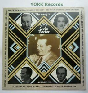THE SONG IS .... COLE PORTER - Various - Ex LP Record ASV Living Era AJA 5044