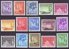 Seychelles 1952 SC 157-171 MH Set