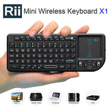 Rii X1 2.4Ghz Wireless Mini Keyboard with Touchpad for PC Smart TV Raspberry PI