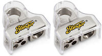 2 Pack Stinger Battery Terminals 0 4 8 Awg Gauge Power Ground Wire AWG Top Post