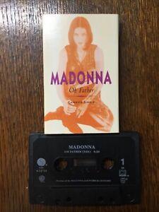 MADONNA - MC MUSIKKASSETTE  Cassette single US Oh Father