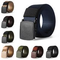 Check Military Web Belt Nylon Waist Belt for Fat Man Tactical Waistband