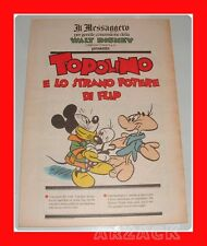 TOPOLINO supplemento IL MESSAGGERO Eta Beta lo strano potere di Flip 21/4/1990