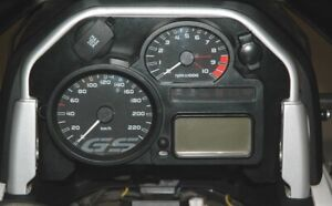 Cockpitblende 2 Speedometer With Bordnetz- And za-Steckdose BMW R1200GS (2008