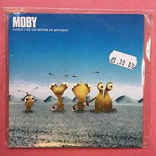 MOBY - Sunday (The Day Before My Birthday) - Card Sleeve - Promo CD (CBX342)