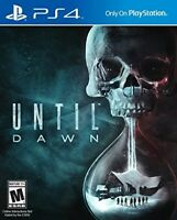 PLAYSTATION 4 PS4 GAME UNTIL DAWN BRAND NEW AND SEALED