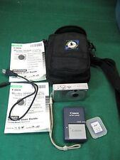 Canon PowerShot SD1000 Digital Camera Bundle with 32mb SD Card