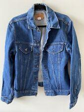 Vintage Levis 2 Pocket Type 3 Iii 71205 0217 Denim Jean Trucker Jacket Sz 44 Usa