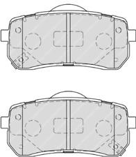 Rear Brake Pad Set Fits Hyundai Kia OE 583023JA00 Ferodo FDB4114
