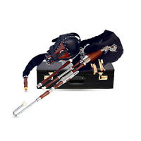 Irish Uilleann pipe Half set Seasoned Rosewood Chanter,Drone bellow Velvet bag
