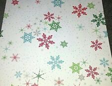 12x12 Paper - Christmas Snowflake - 3Pcs