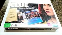 2008 Parker Brothers Clue Discover the Secrets Board Game Sealed, minor damage