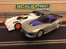 Scalextric Digital 2x Le Mans Prototype & GT Cars Brand New