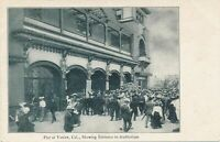 VENICE CA - Pier showing Auditorium Entrance - udb (pre 1908)