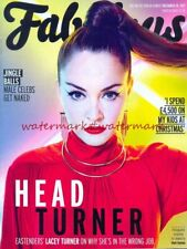 LACEY TURNER - Cover & Photo Feature in FABULOUS Magazine, December 2015