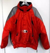 Starter Detroit Red Wings Parka Coat Men's Large NHL Half Zip Pullover Jacket