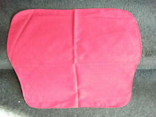 VINTAGE RED LINEN NAPKINS - 6 - IN EXCELLENT CONDITION