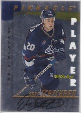 1997-98 BE A PLAYER DIE-CUT AUTO: DAVE SCATCHARD #234 ON CARD AUTOGRAPH CANUCKS