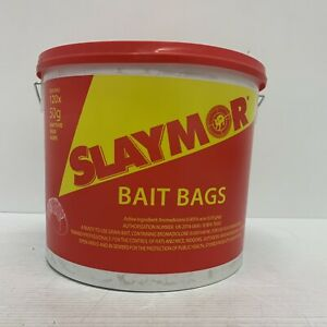 Slaymor Professional Rat & Mouse Poison Bait Rentokil 120x50g Sachets 6kg