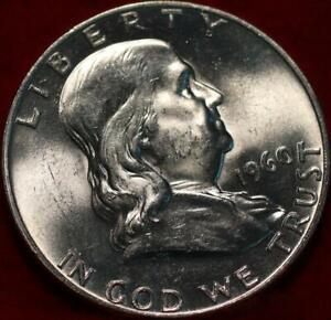 Uncirculated 1960-D Denver Mint Silver Franklin Half