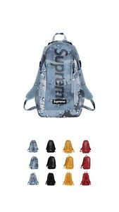 Supreme Blue Chocolate Chip Camo Backpack SS20 NWT