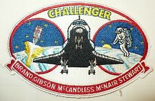 RARE PATCH SPACE SHUTTLE CHALLENGER MISSION