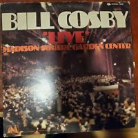 UNIVERSAL CITY RECORDS BILL COSBY 'LIVE' MADISON SQUARE GARDEN LP VG+