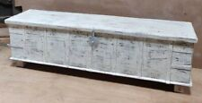 Vintage Storage Box whitewashed