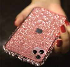 Bling Diamond Metal Bumper Case Glitter Sticker For iPhone W/H Swarovski Element