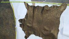 Italian Lambskin leather hide Versailles Or Lamb Skin 5 Sq.Ft. 2 oz.