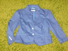 ❤️ ESPRIT süßer Blazer KURZ Blau 40 Puffärmel 3/4 Arm TOP 1x getragen NP80€ ❤️