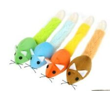 Mouse Shape Cat Soft Interactive Play Kitten Pet Teaser Toy with catnip